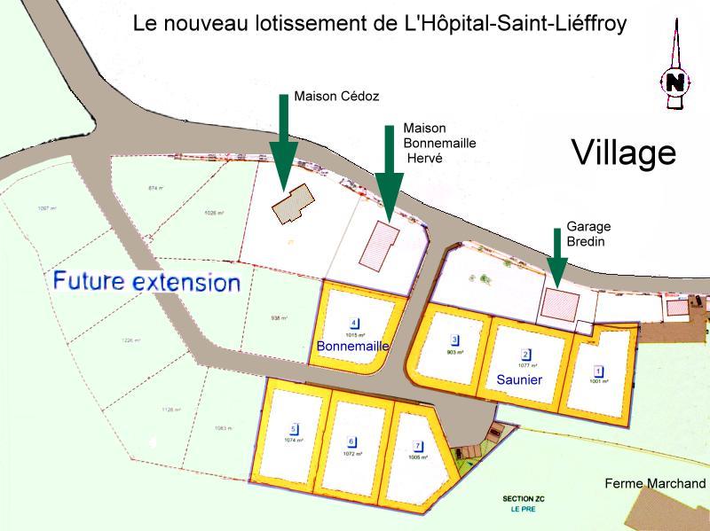 Henri bredin le plus ancien maire du doubs for Extension maison lotissement